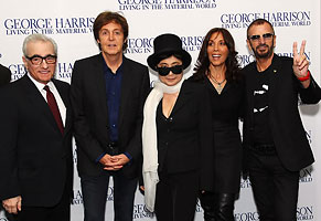 GEORGE HARRISON: LIVING IN THE MATERIAL WORLD PREMIERE
